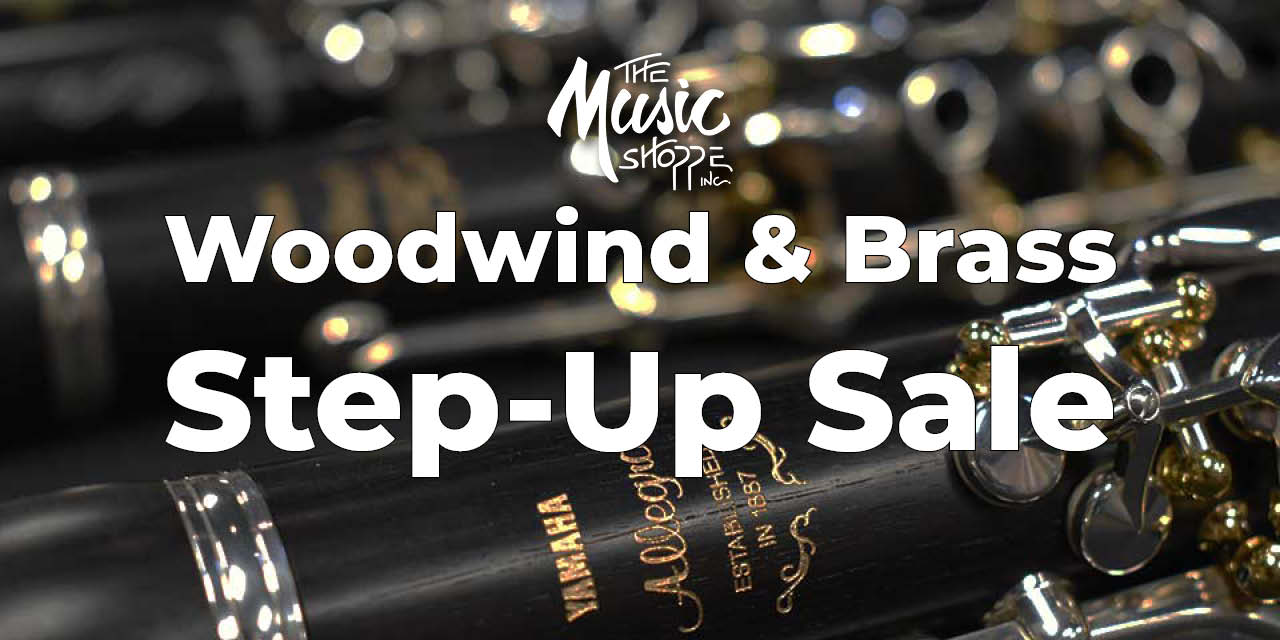 Woodwind & Brass Step-Up Sale
