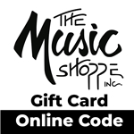 The Music Shoppe Gift Card - Online Code - Any Amount