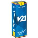 Vandoren V21 Bass Clarinet Reeds, Box/5 CR82