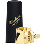 Vandoren Optimum Bari Sax Gold Ligature & Cap OPTIMUM