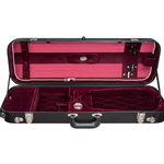 Bobelock Fiberglass Suspension Violin Case w/Cover BO1060FBVS