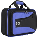 Kaces Lightweight Hardshell Clarinet Case Blue KBO-CLBL