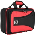 Kaces Lightweight Hardshell Clarinet Case Red KBO-CLRD