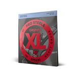 D'Addario XL ProSteels Bass Strings DAEPSBASS