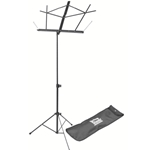 Folding Music Stand w/ Carrying Bag