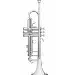 B&S Challenger I Bb Trumpet - Silver BS3137-2-0