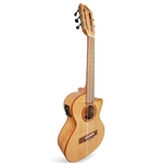 Lanikai Flame Maple Cutaway A/E Low & High G Tenor FM-5CET