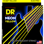 Dr Strings Neon Yellow Electric Guitar Strings .10 NYE-10