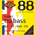 RotoSound Rotosound Tapewound Bass 4 String Set 65-115 Blk RS88LD