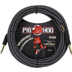 Pighog Pig Hog 20' Amplifier Grill Instrument Cable St/St PCH20AG