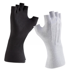 DSI Fingerless Long-Wrist Gloves - Black GLFCOLWBL