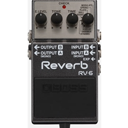 Boss Digital Reverb Pedal RV6